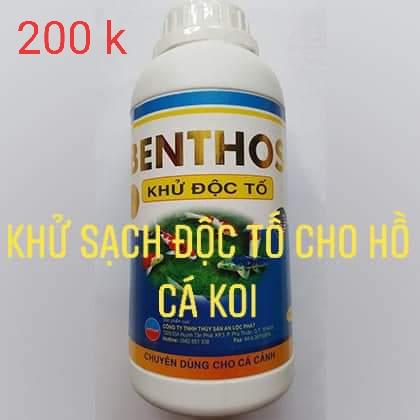 Benthos-Khử-độc-tố-hồ-cá