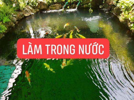 BIO- FISH KOI vi sinh hồ cá koi , chống rêu mốc ĐẶC BIỆT nuôi cá không phải THAY NƯỚC