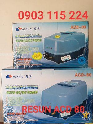Máy sủi khí tích điện Resun ACD 80