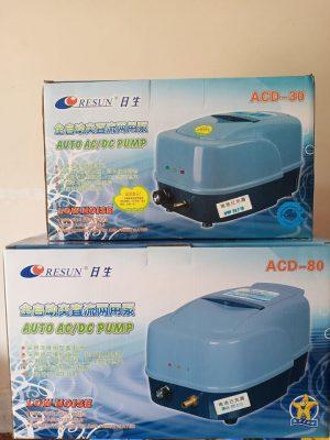Máy oxy tích điện cho hồ Cá Koi - Resun ACD 130