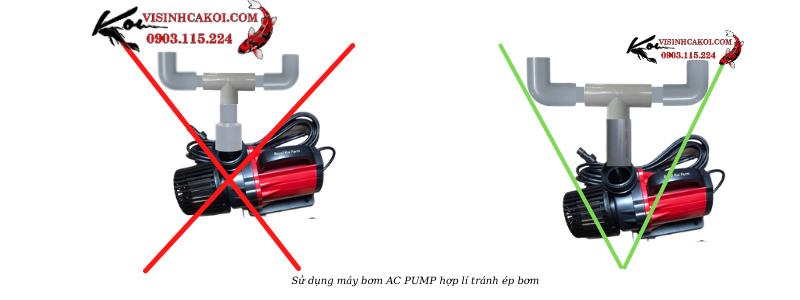 Cách sử dụng máy bơm AC Pump 40000hiệu quả