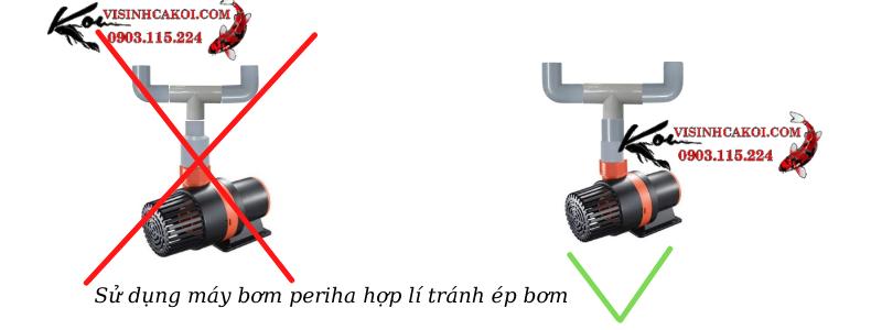 Cách đi ống máy bơm pb 7000 đúng cách